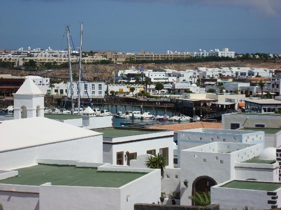 Villas La Granja: View of the Rubicon Marina