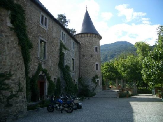 Crots, France: The Castle in the morning light