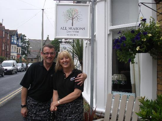 All Seasons Guest House Filey, B&B: Andrew and Lesley