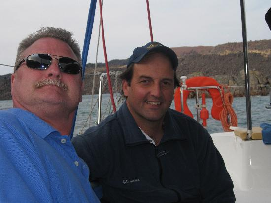 Santorini Sailing: Thanks Captain