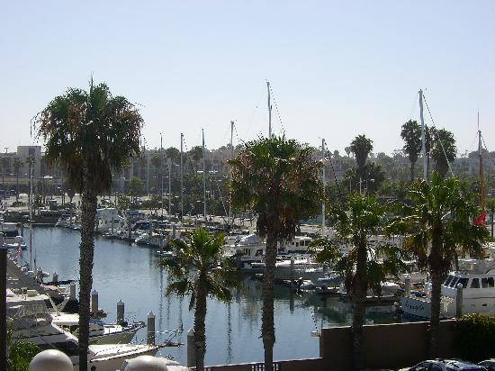 The Portofino Hotel & Marina, A Noble House Hotel: View from hotel balcony