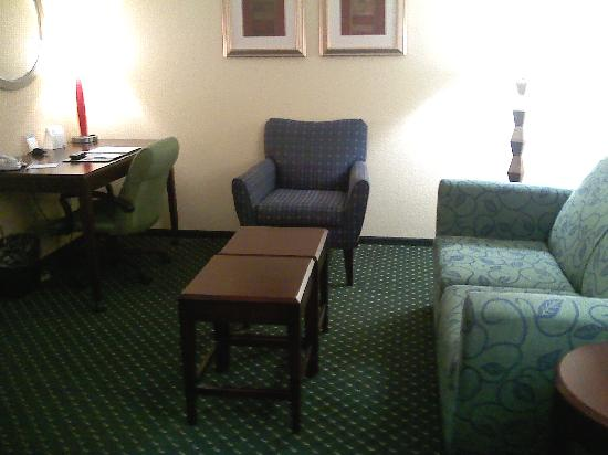 SpringHill Suites Morgantown: Living Area