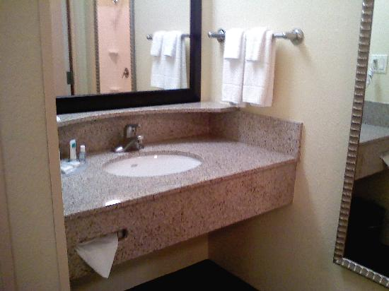 SpringHill Suites Morgantown: Sink
