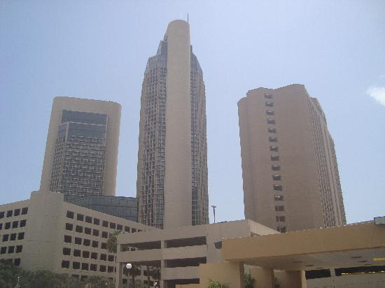 V Boutique Hotel: View of downtown from the hotel