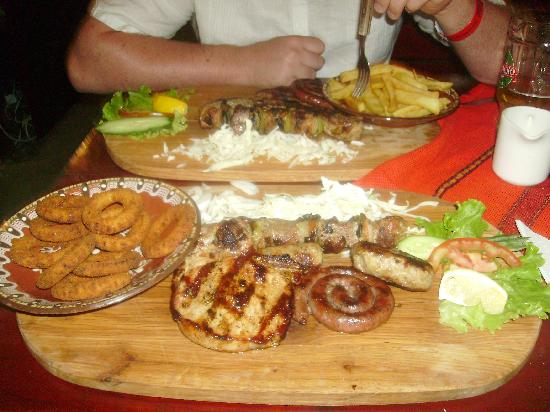 Pomorie Hotel: best mixed grill ever