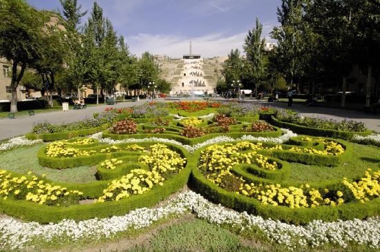 Armenien: Cascade d'Erevan