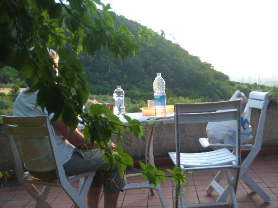 Il Torrino di Sotto B&B : View from terrasse