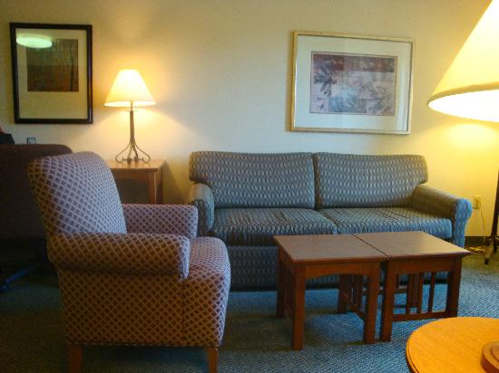 Staybridge Suites San Diego Rancho Bernardo Area: living room