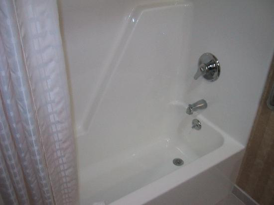 Comfort Inn & Suites: Rm312 - Shower (clean)