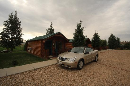 Bryce Canyon Country Cabins: from outside !