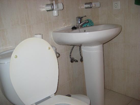 Los Tilos: bathroom