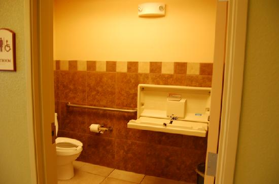 Holiday Inn Express Hotel & Suites Andover/East Wichita: pool bathroom