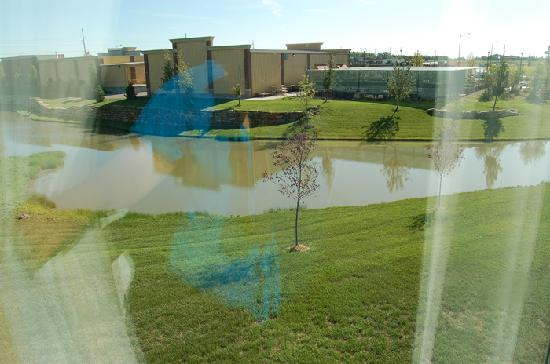 Holiday Inn Express Hotel & Suites Andover/East Wichita: view from room 215