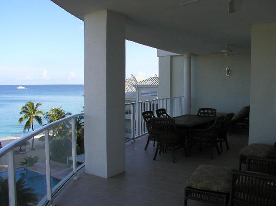Caribbean Club: Balcony View