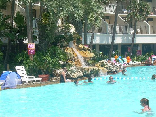 Pool Waterfall Picture Of Holiday Inn Resort Panama City