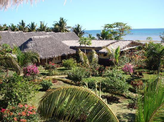 Vanila Hotel & Spa: vue balcon