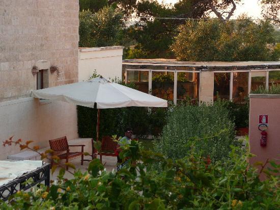 Hotel Masseria Bandino: un piccolo scorcio della masseria...