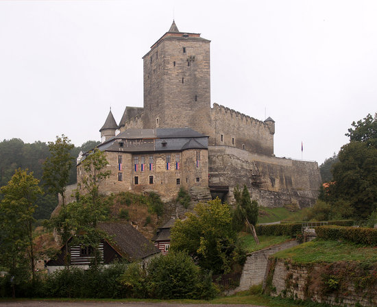Jicín, Republika Czeska: Kost Castle, 4 km northwest of Sobotka