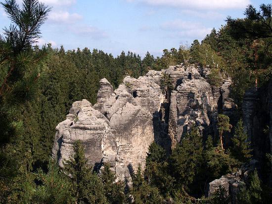The Prachovske Skaly rocks, 6 ...
