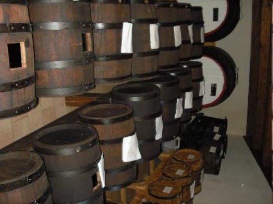 Agriturismo Il Piccolo Mugnaio: The vinegar attic