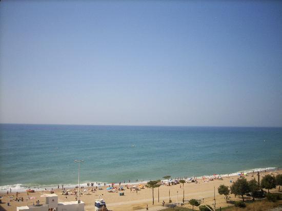 Pineda de Mar, Spanien: vue de notre balcon