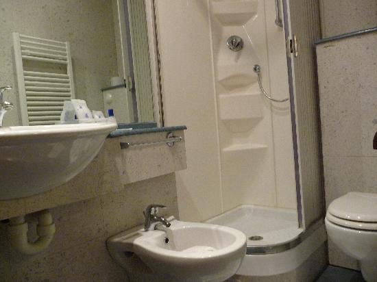 Montecarlo Hotel: Single room's bathroom