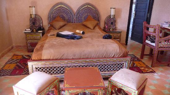 Bled Al Fassia : détail de la chambre