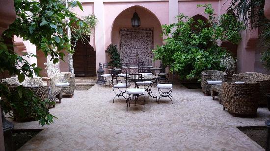 Bled Al Fassia : un des patios