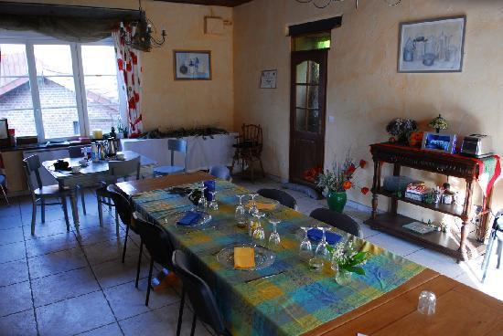 Dining room - Moulin de Binard