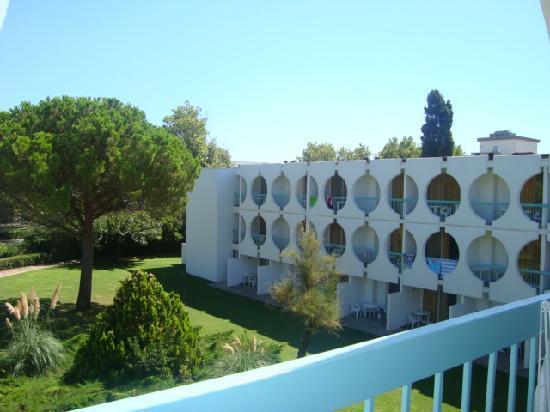 Resideal Bernard de Ventadour: C'est un vue de notre balcon