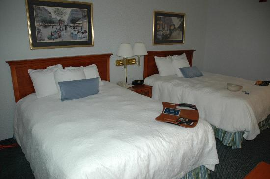 Hampton Inn Greensburg: 2 queen beds