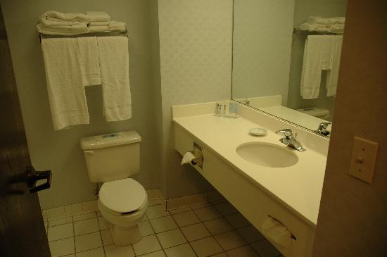 Hampton Inn Greensburg : clean as a whistle
