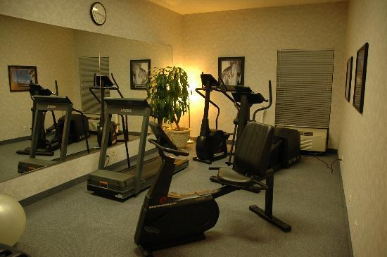 Hampton Inn Greensburg: fitness area