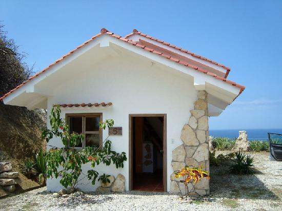 Isla Salango, Ecuador: My favourite bungalow: Nuria (Because it has a terrace)