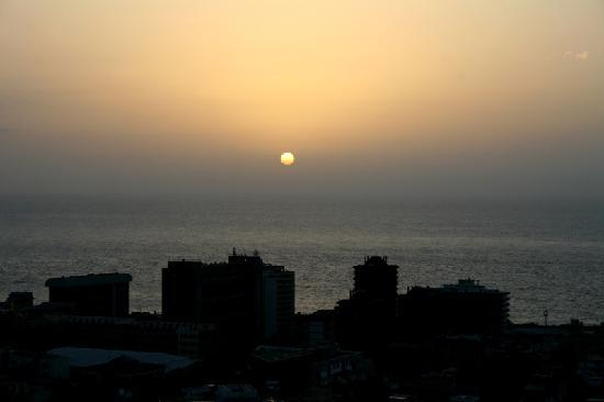 Hotel Tigaiga: Sunset from the hotel