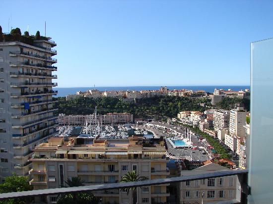 Novotel Monte Carlo: View from Hotel room