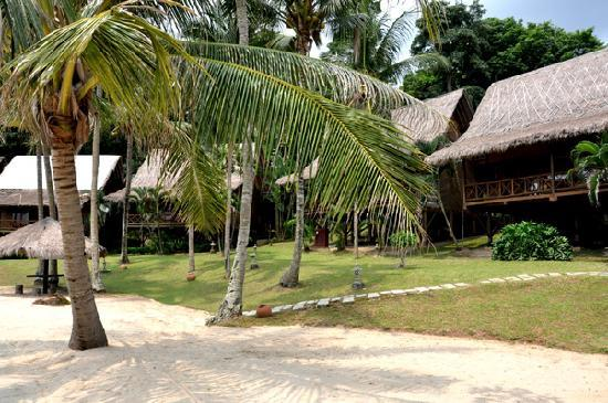 Turi Beach Resort: the 'old area' at Turi