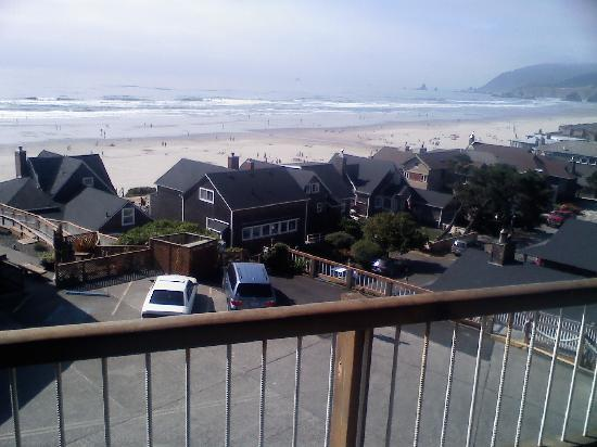 "Hallmark Resort Cannon Beach: My ""Beachfront"" Room View"