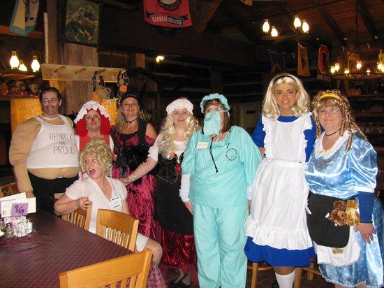 Log Cabin Pancake House : The WONDERFUL waitresses