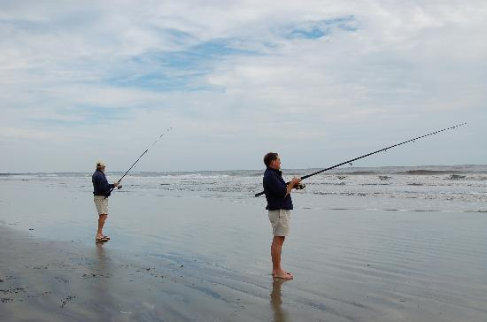Surf fishing north beach picture of seabrook island for South carolina surf fishing