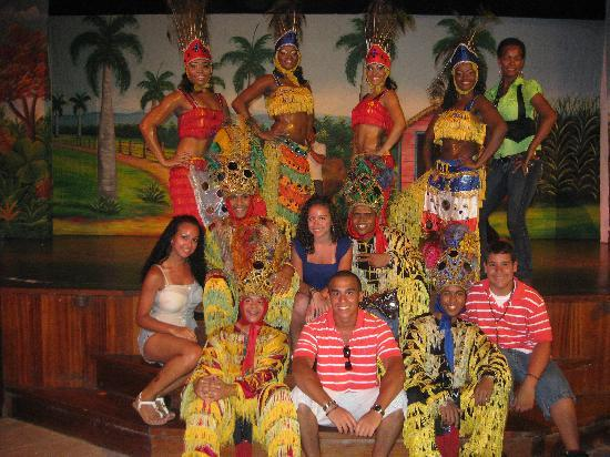 Vik Hotel Cayena Beach Picture Time With The Dance Crew