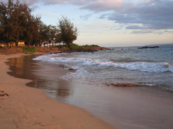 beach in front of Kihei Akahi