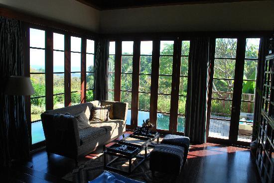 The Damai: master villa living area