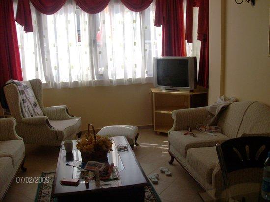 Hotel Bonjour: living room