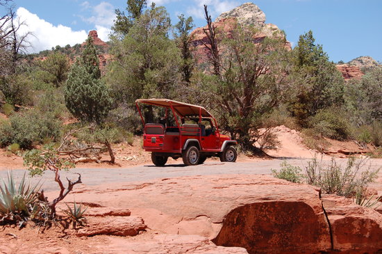 Awesome Red Rock Jeep Tours: The Jeep We Rode In!