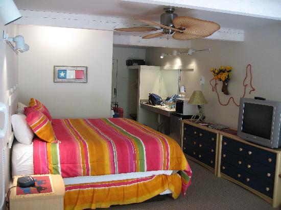 Hot Springs Inn: Zimmereinrichtung