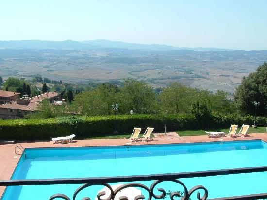 Hotel Villa Nencini: View from our bedroom