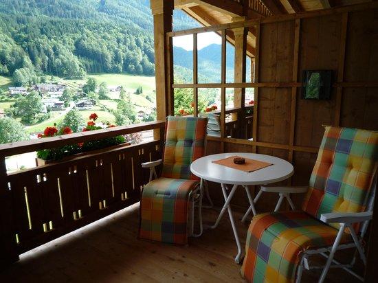 BEST WESTERN PLUS Berghotel Rehlegg:                                     Balcony