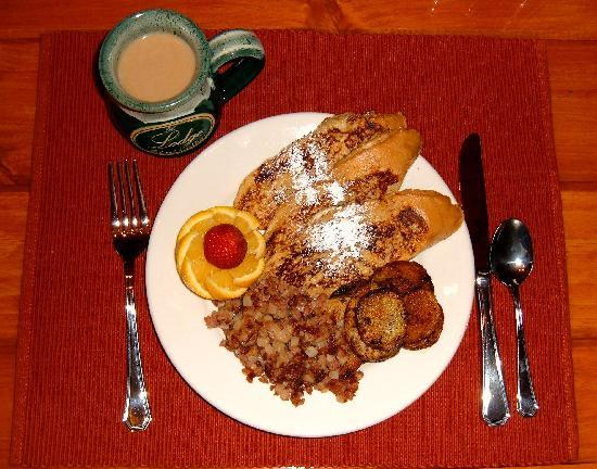Caneadea, NY: Orange French Toast