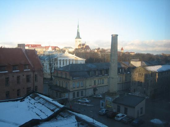 Nordic Hotel Forum: View over the town as seen from our window
